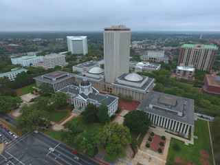 Aerial photo Florida State Capitol Building