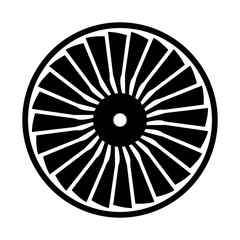 Turbine, shade picture