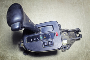 Selector lever of the automatic transmission