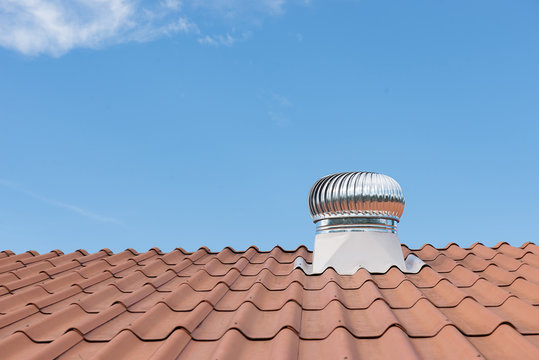 Roof Ventilation, cooling pipes on