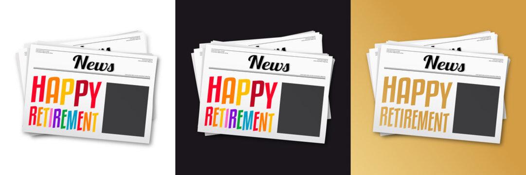 Happy retirement !