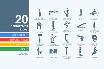 Set of orthopedics icons