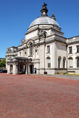 Rathaus Cardiff, Wales, UK