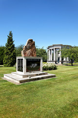 Falklands Memorial, Cathays Park, Cardiff, Wales