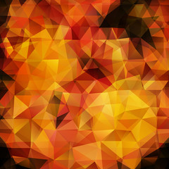 Abstract flame triangles background