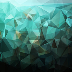 Abstract dark triangles background
