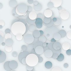 Abstract Seamless Circles Background