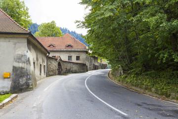 Red Monastery in Pieniny Mountains, Slovakia