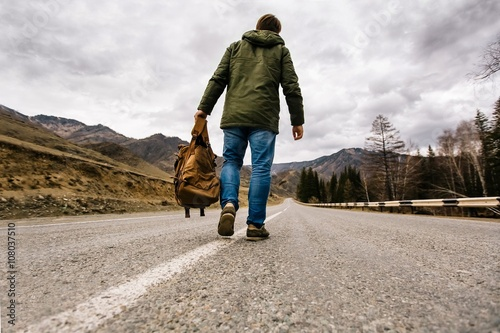 Walking Alone In The Road | www.pixshark.com - Images ...