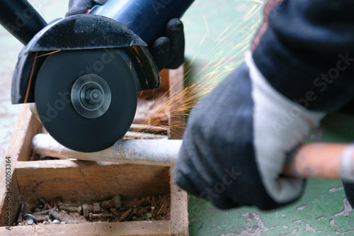 Quot grinding steel tube stock photo and royalty free images
