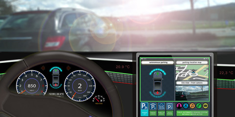 adi25 AutonomousDrivingIllustration - automatic park assist - driverless cars - self-driving vehicles - 2to1 g4342