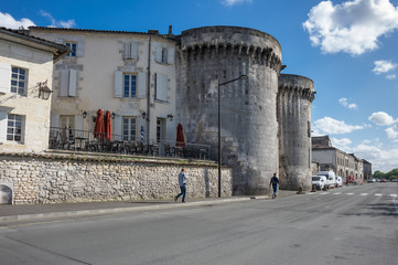Wall Mural - Street of Cognac