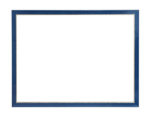 picture frame blue
