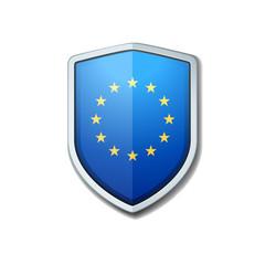 European Union shield sign