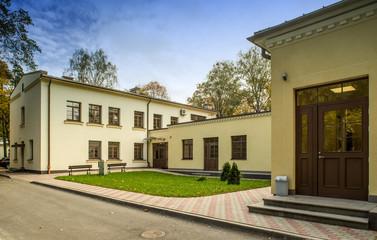 Stradinja hospital. Building.  Public building.