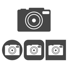 Camera icon - vector icons set