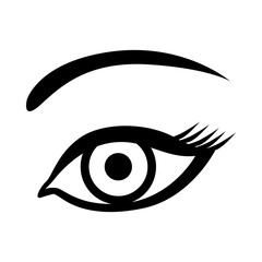Eye image icon