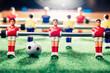 table football soccer game, backlight