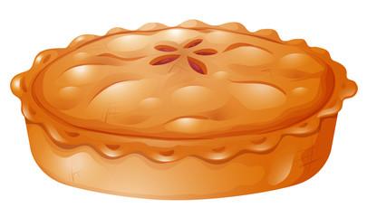 Fresh baked of pot pie