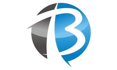 Modern Logo Solution Letter B