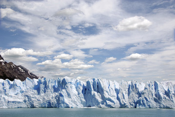 The Perito Moreno Glacier is a glacier located in the Los Glaciares National Park in the Santa Cruz province, Argentina. It is one of the most important tourist attractions in the Argentine Patagonia