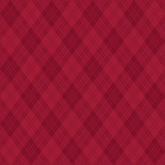 アーガイル柄 深紅色 背景