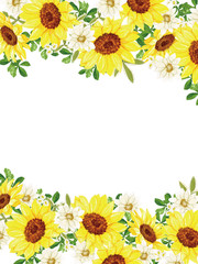 sunflower yellow and beautiful