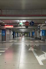 Parcheggio del centro commerciale