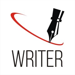 writer. legal lawyer symbol.