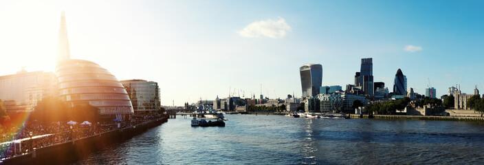 Keuken foto achterwand Londen London sunshine
