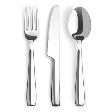 Knife  Fork Spoon Stainless Steel