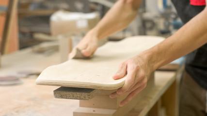 Making of Longboard Deck