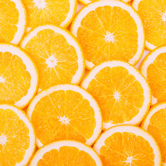 Oranges Fruit Background. Healthy Food Concept