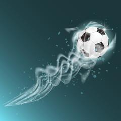 Fußball - Lichteffekte