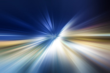 Sfondo futuristico blu