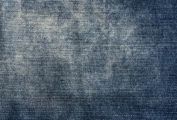 Worn blue denim texture.