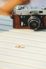 Rings and Old Camera