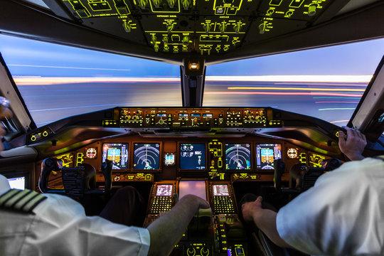 Pilots at work