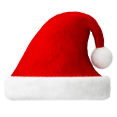 santa hat isolated
