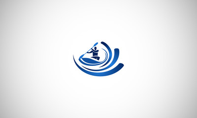kayaker, kayak, kayaking, logo,