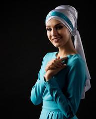 Portrait of muslim woman