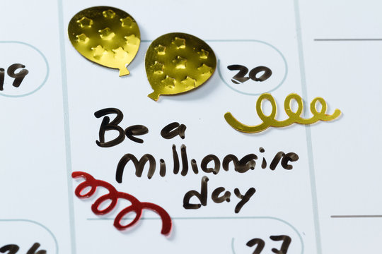 may 20, be a millionaire day