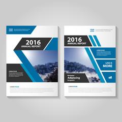Elegance Blue Vector business proposal Leaflet Brochure Flyer template design, book cover layout design, Abstract blue presentation templates