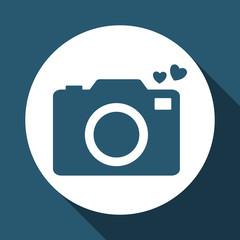 camera icon design , vector illustration