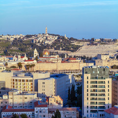 Jerusalem Old City and Temple Mount