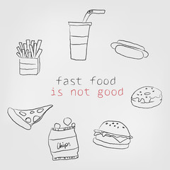 Fast food is not good
