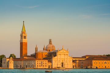 San Giorgio Maggiore im Abendlicht, Venedig