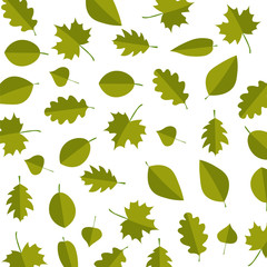 Leafs vector illustration wallpaper texture style