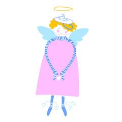 happy love angel