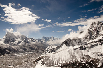 Fotobehang - Gokyo Ri Mountains - Nepal